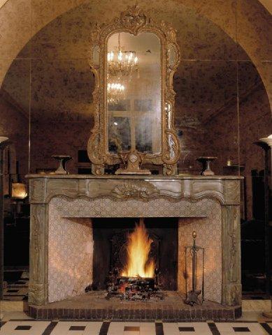 Imperator Hotel Nimes - Fireplace