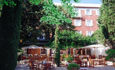 Imperator Hotel Nimes - Terrace