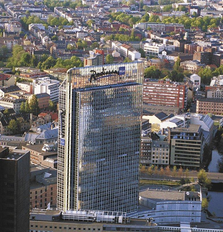 Radisson Blu Plaza Hotel Oslo Außenansicht