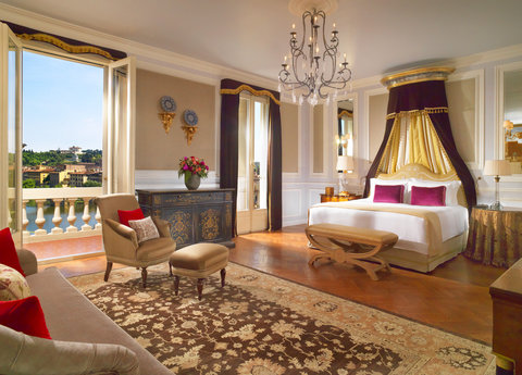 The St. Regis Florence - Presidential Da Vinci Suite Master Guestroom