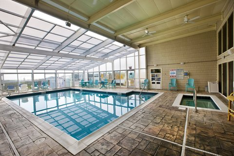 Ramada Plaza Nags Head Oceanfront - Indoor Pool with jacuzzi