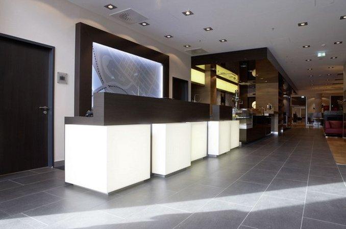 InterCityHotel Mannheim 前厅