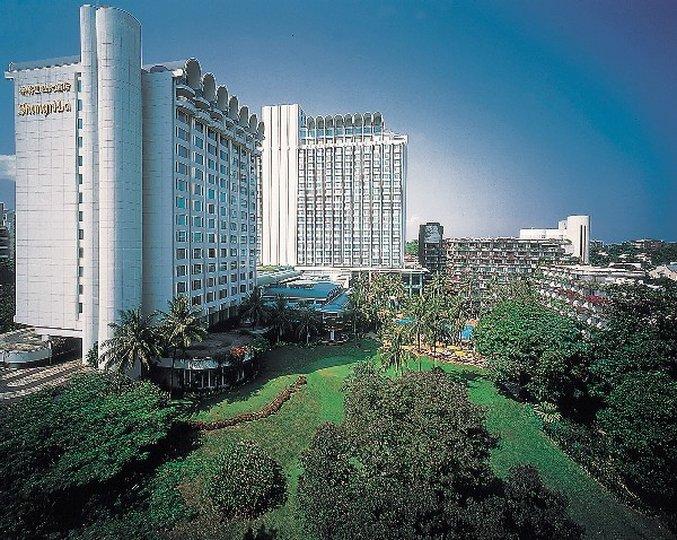 Shangri La Hotel Singapore Vista esterna