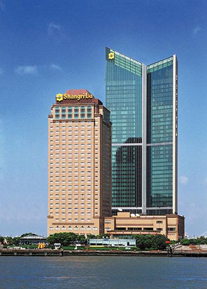 Pudong Shangri La Shanghai Exterior view
