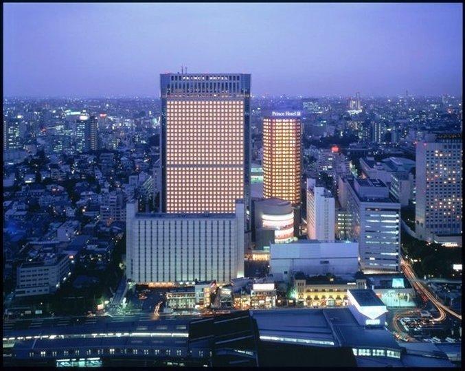 Shinagawa Prince Hotel Vue extérieure