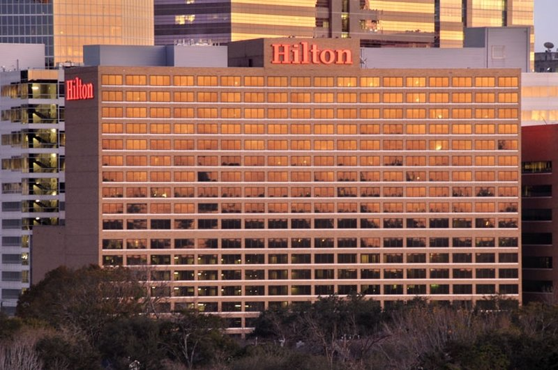 Hilton Houston Plaza/Medical Center Set udefra