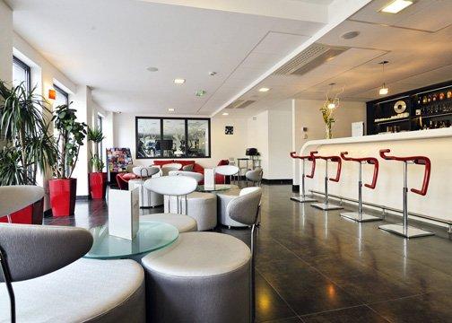 Comfort Hotel Strasbourg Athena Spa Bar/Lounge