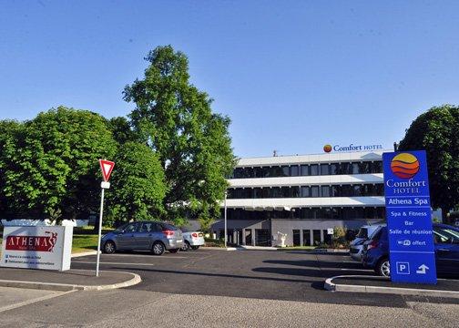 Comfort Hotel Strasbourg Athena Spa Außenansicht