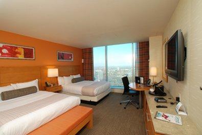 Greektown Casino Hotel - Deluxe Double Bedroom