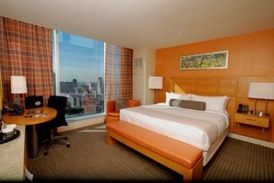 Greektown Casino Hotel - Deluxe King Bedroom