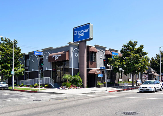 Rodeway Inn Los Angeles Widok z zewnątrz