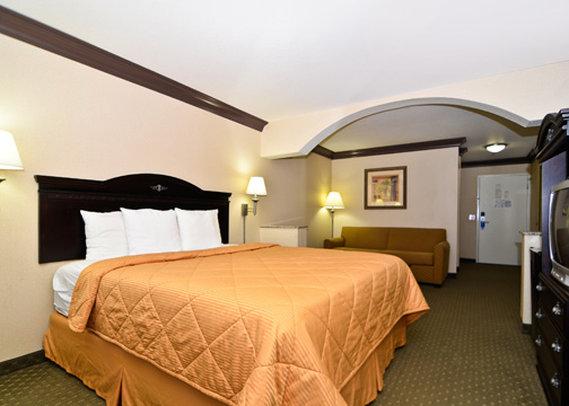 Comfort Inn & Suites Vista della camera