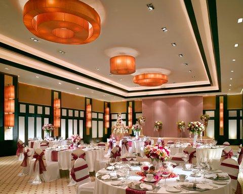 悦榕度假酒店 - Ballroom - Wedding Setup