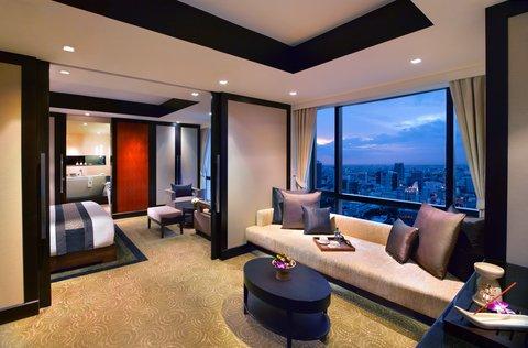 悦榕度假酒店 - One Bedroom Suite - Living Area