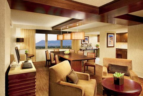 Sheraton Albuquerque Airport Hotel - Club Lounge