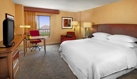 Sheraton Albuquerque Airport Hotel - Traditional King Bed Guestroom