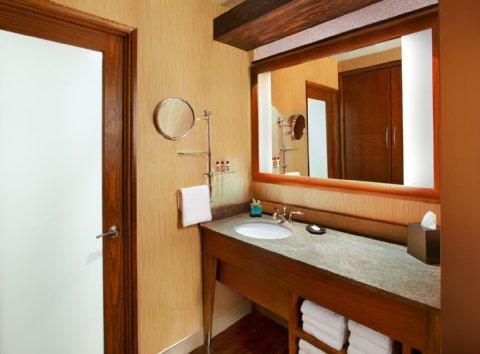 Sheraton Albuquerque Airport Hotel - Traditional Guest Room Bathroom