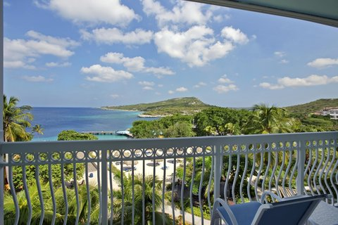Curacao Hilton Hotel - View from Oceanview room
