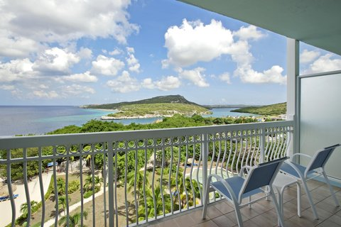 Curacao Hilton Hotel - View King Executive Suite Oceanview