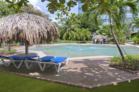 Curacao Hilton Hotel - Kids pool