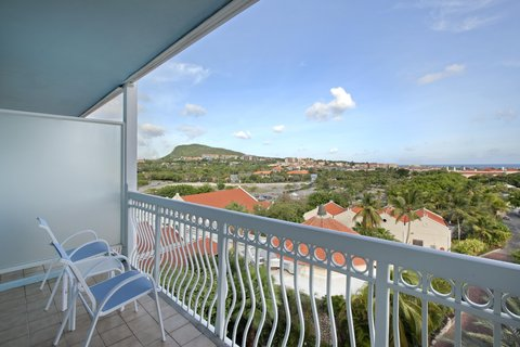 Curacao Hilton Hotel - Island view