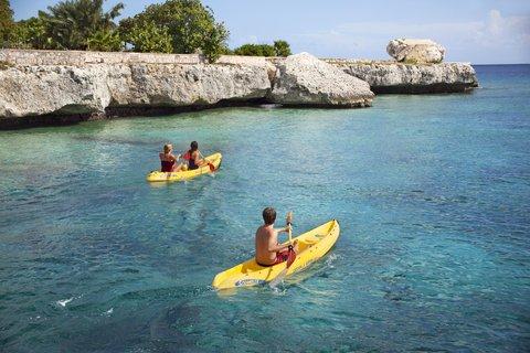 Curacao Hilton Hotel - Watersports - Kayak