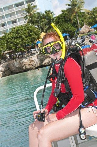 Curacao Hilton Hotel - Scubadiving