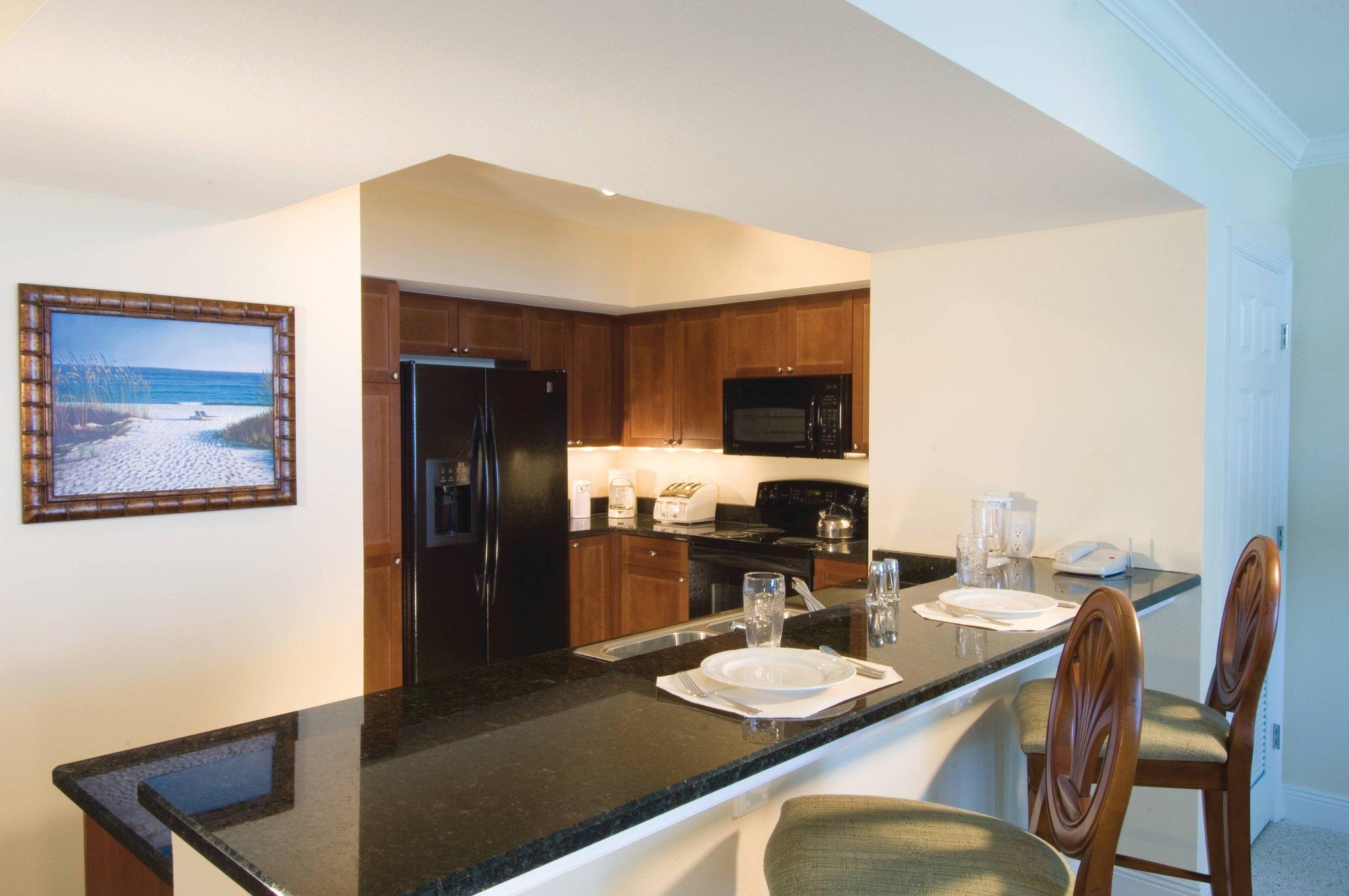 wyndham vacation resorts panama city beach wyndham vacation one bedroom standard kitchen