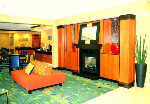 Fairfield Inn & Suites Billings - Lobby