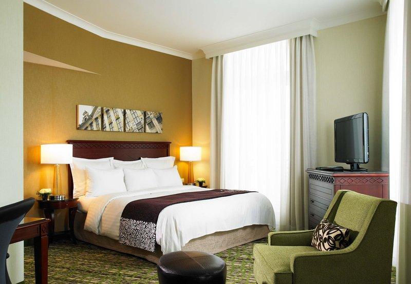 Marriott Brüssel Odanın görünümü
