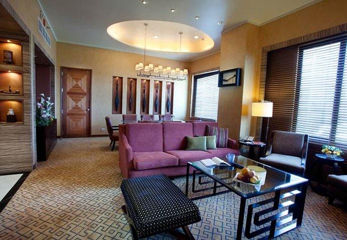 Marriott Hotel Cebu City Odanın görünümü