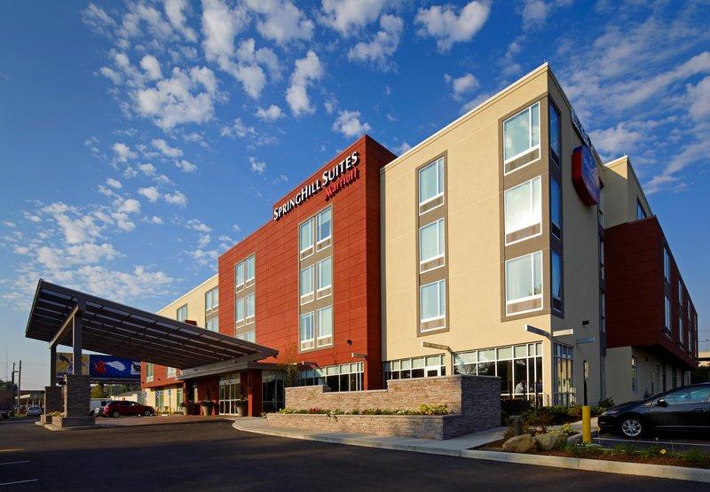 SpringHill Suites Columbus OSU Außenansicht