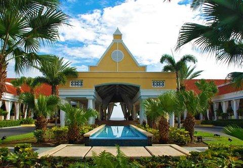 Curacao Marriott Beach Resort & Emerald Casino - Entrance