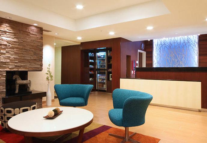 Fairfield Inn by Marriott Las Colinas Lobi