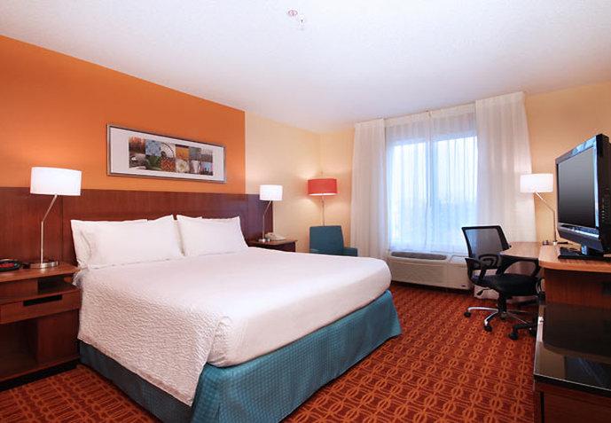 Fairfield Inn by Marriott Las Colinas Odanın görünümü