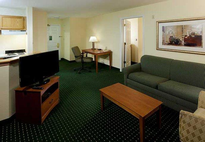 TownePlace Suites by Marriott Las Colinas Odanın görünümü