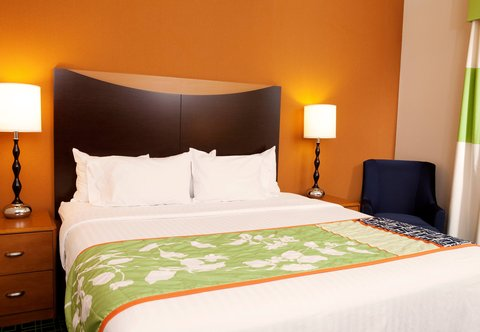 Fairfield Inn & Suites Des Moines Airport - King Guest Room