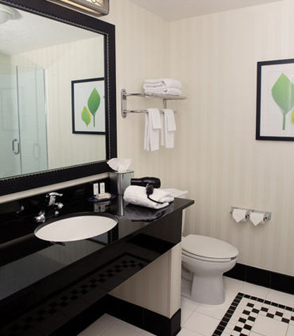 Fairfield Inn & Suites Des Moines Airport - Suite Bathroom