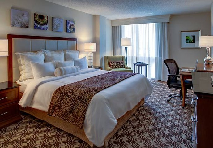 Marriott Houston North at Greenspoint Вид в номере