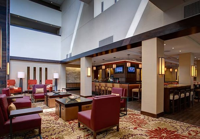 Marriott Houston North at Greenspoint Вестибюль