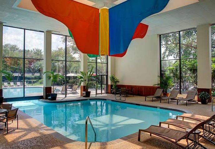 Marriott Houston North at Greenspoint Фитнесс-клуб