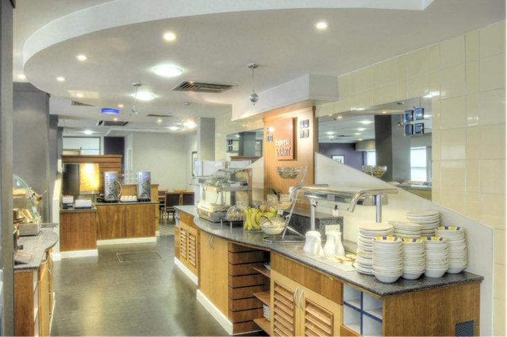 Holiday Inn Express Glasgow City-Riverside 餐饮设施