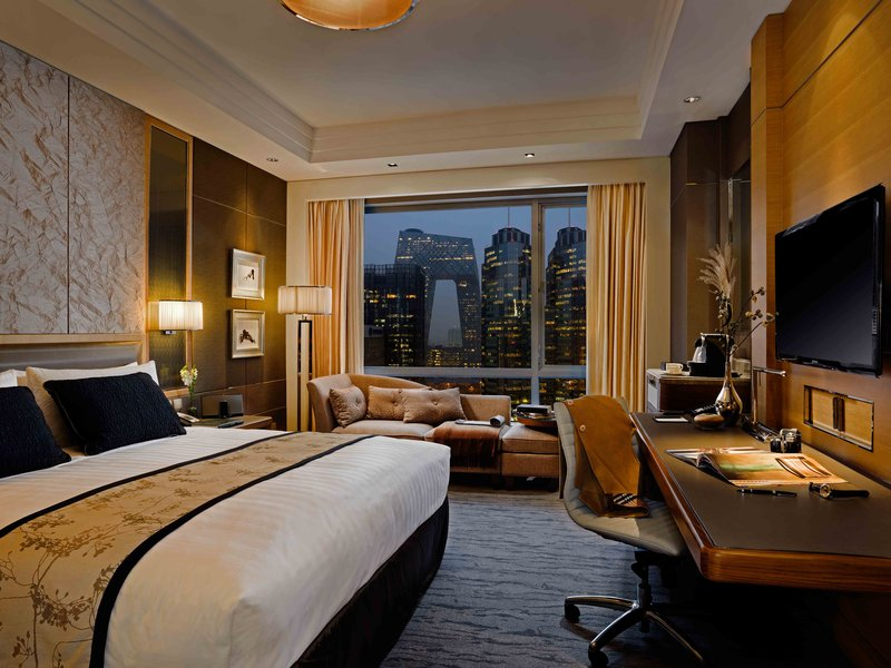 Kerry Hotel Beijing Zimmeransicht