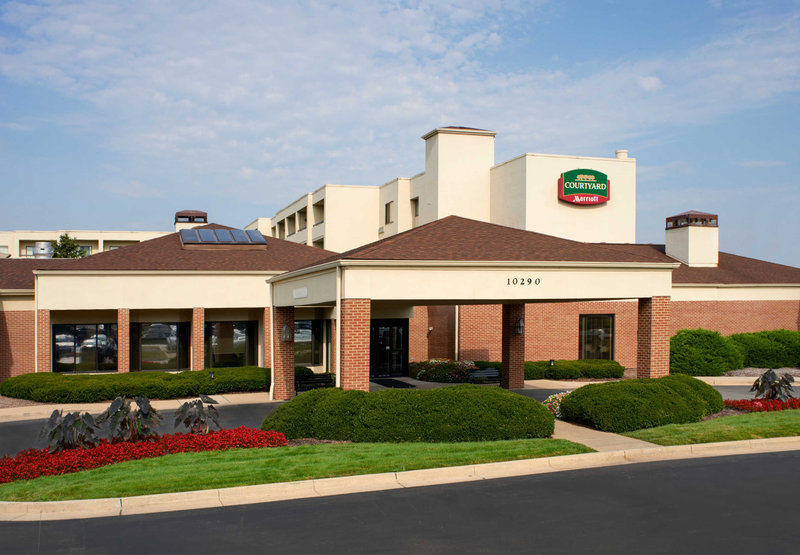 Courtyard by Marriott Indianapolis Carmel Pohled zvenku