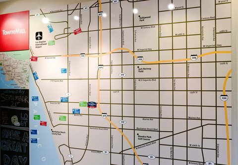 TownePlace Suites Los Angeles LAX/Manhattan Beach - TowneMap