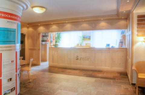 Sunstar Wengen Hotel - Sunstar Hotel Wengen Reception