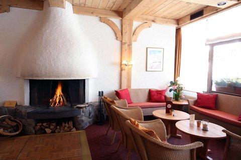 Sunstar Wengen Hotel - Sunstar Hotel Wengen Lobby Cheminee