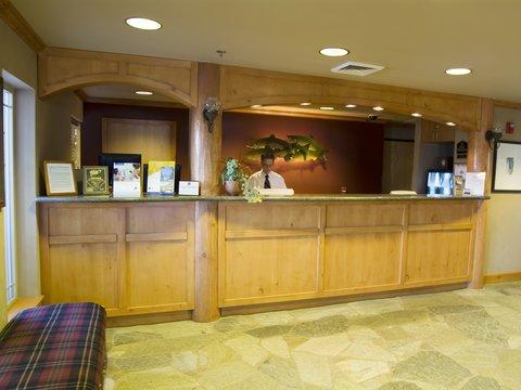 BEST WESTERN Northwest Lodge - Front Desk