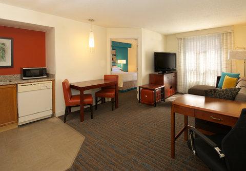 Residence Inn Atlanta Buckhead/Lenox Park - One-Bedroom Suite