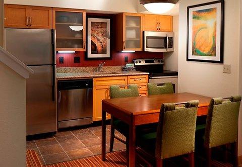 Residence Inn by Marriott Jacksonville Baymeadows - Suite Kitchen